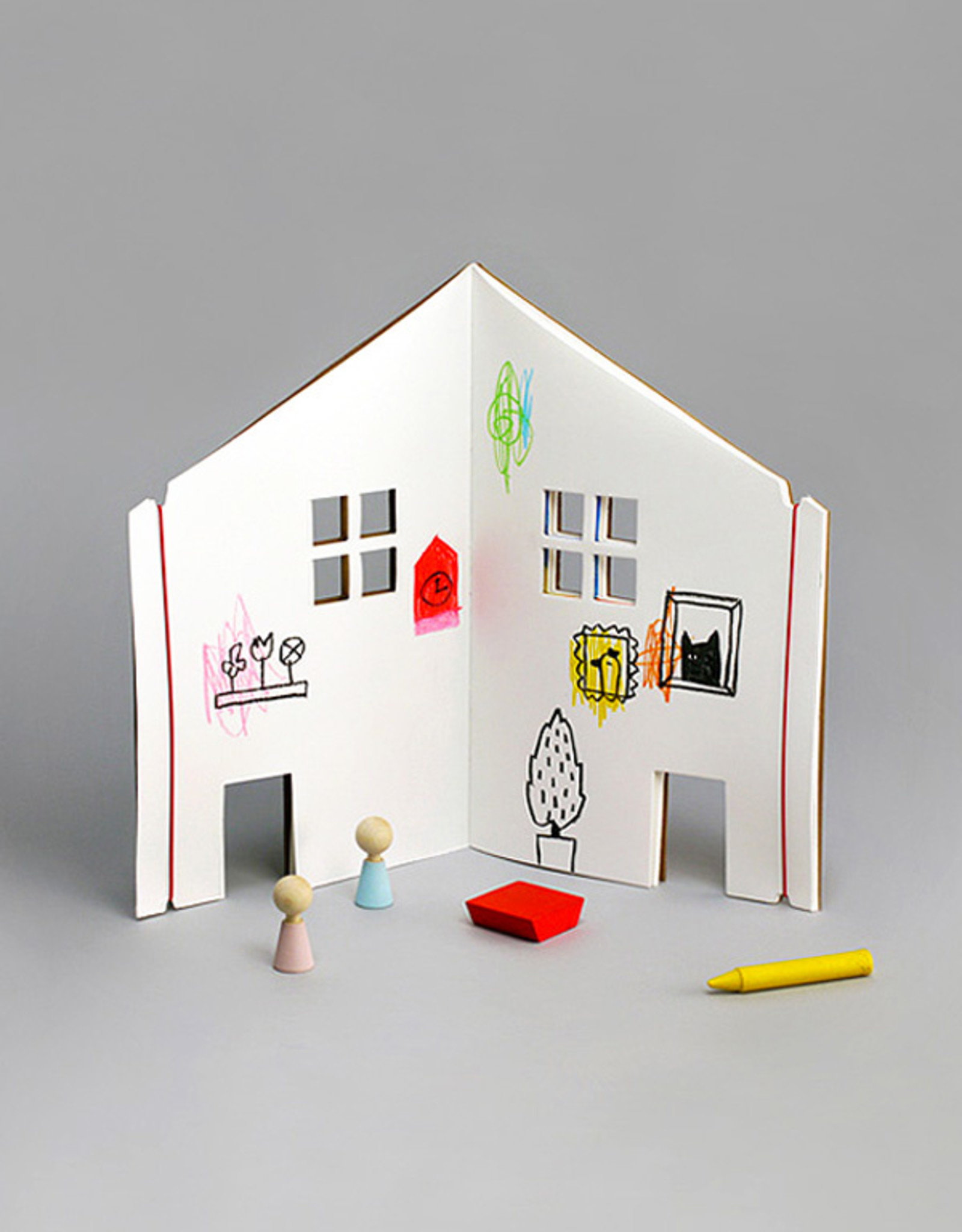 living refinery dollhouse coloring book