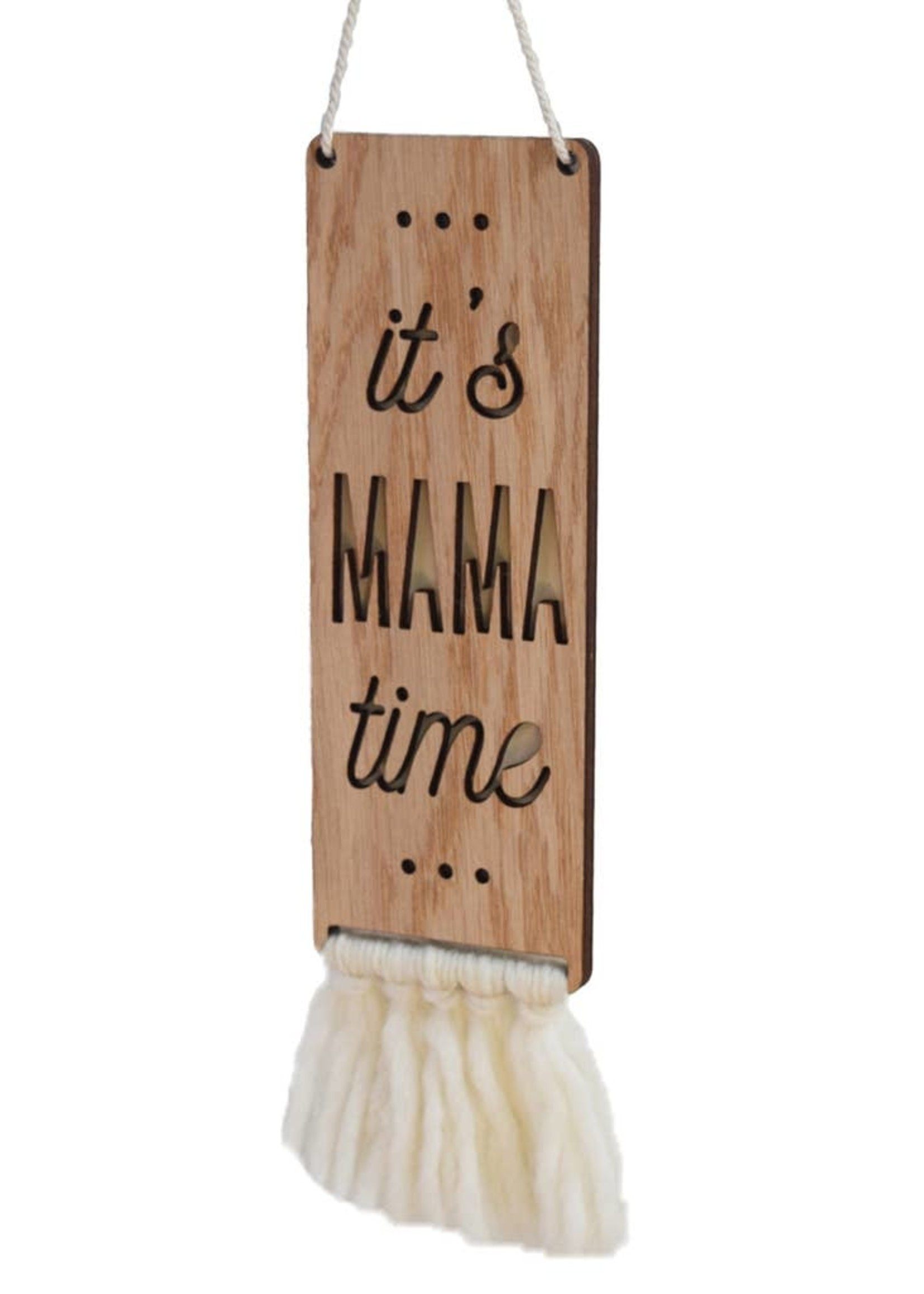 tree by kerri lee it's mama time sign