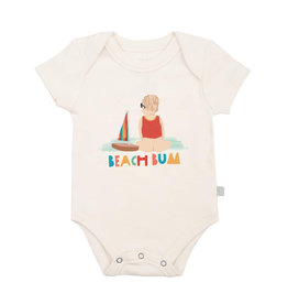 Finn and emma Beach Bum Onesie