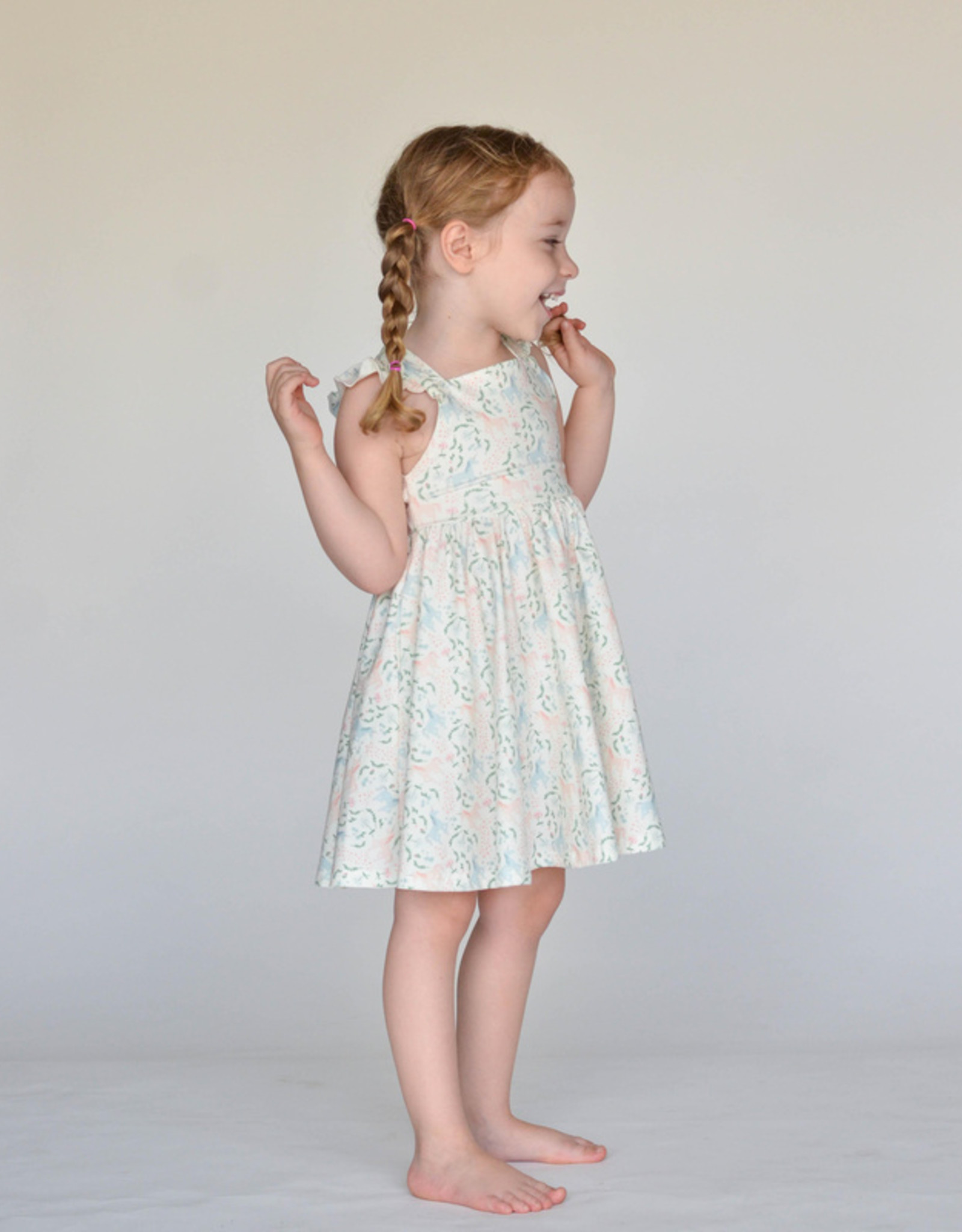 ollie jay Magical Unicorn Rosita Twirl Dress