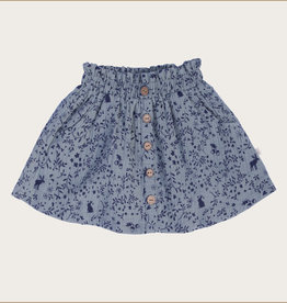 charming mary Woodland Guaze Skirt
