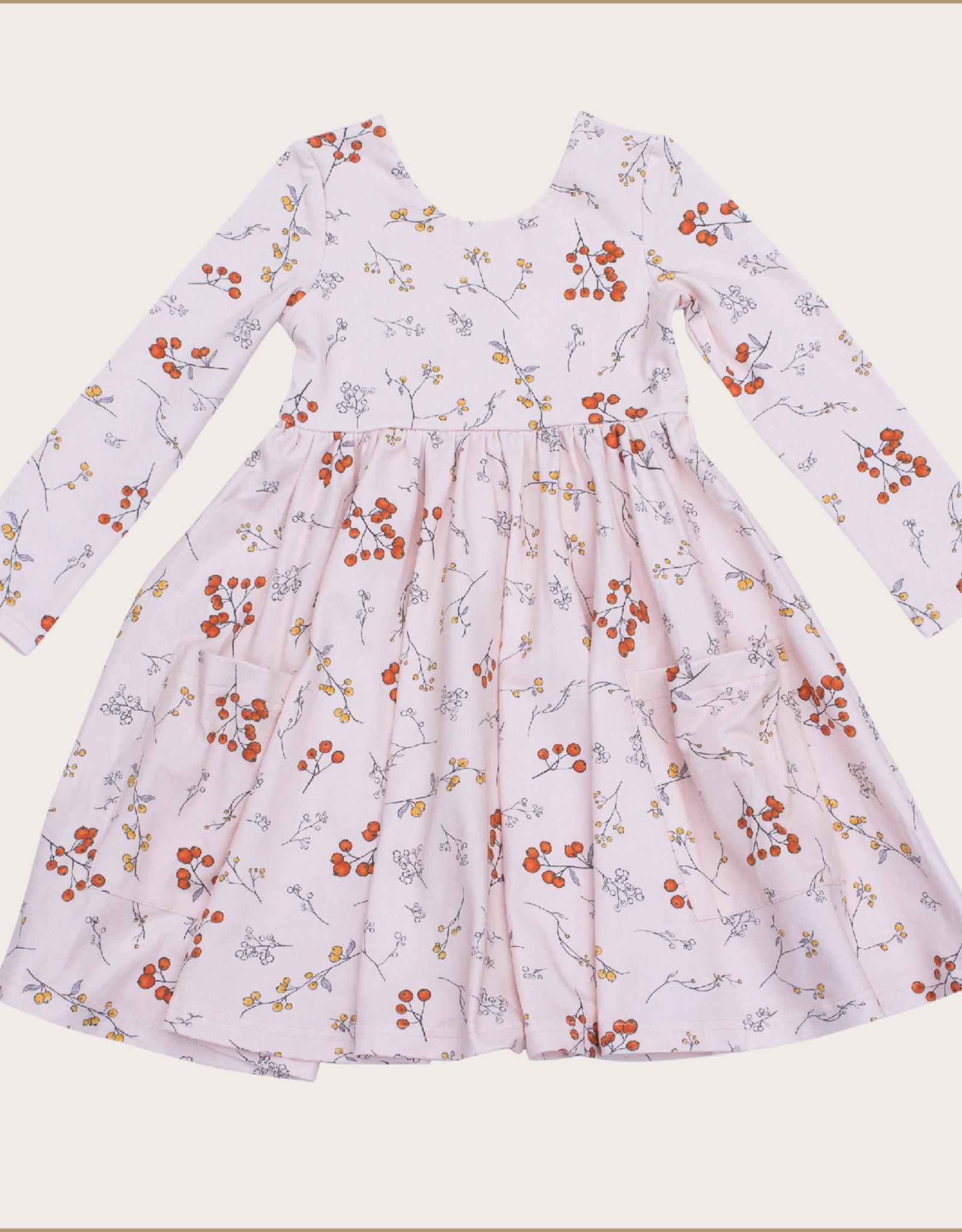 charming mary Winter Berries Charming Twirl Dress