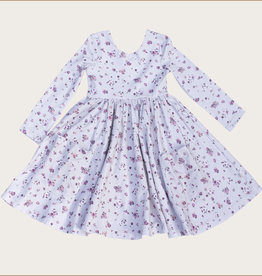 charming mary Autumn Floral Charming Twirl Dress