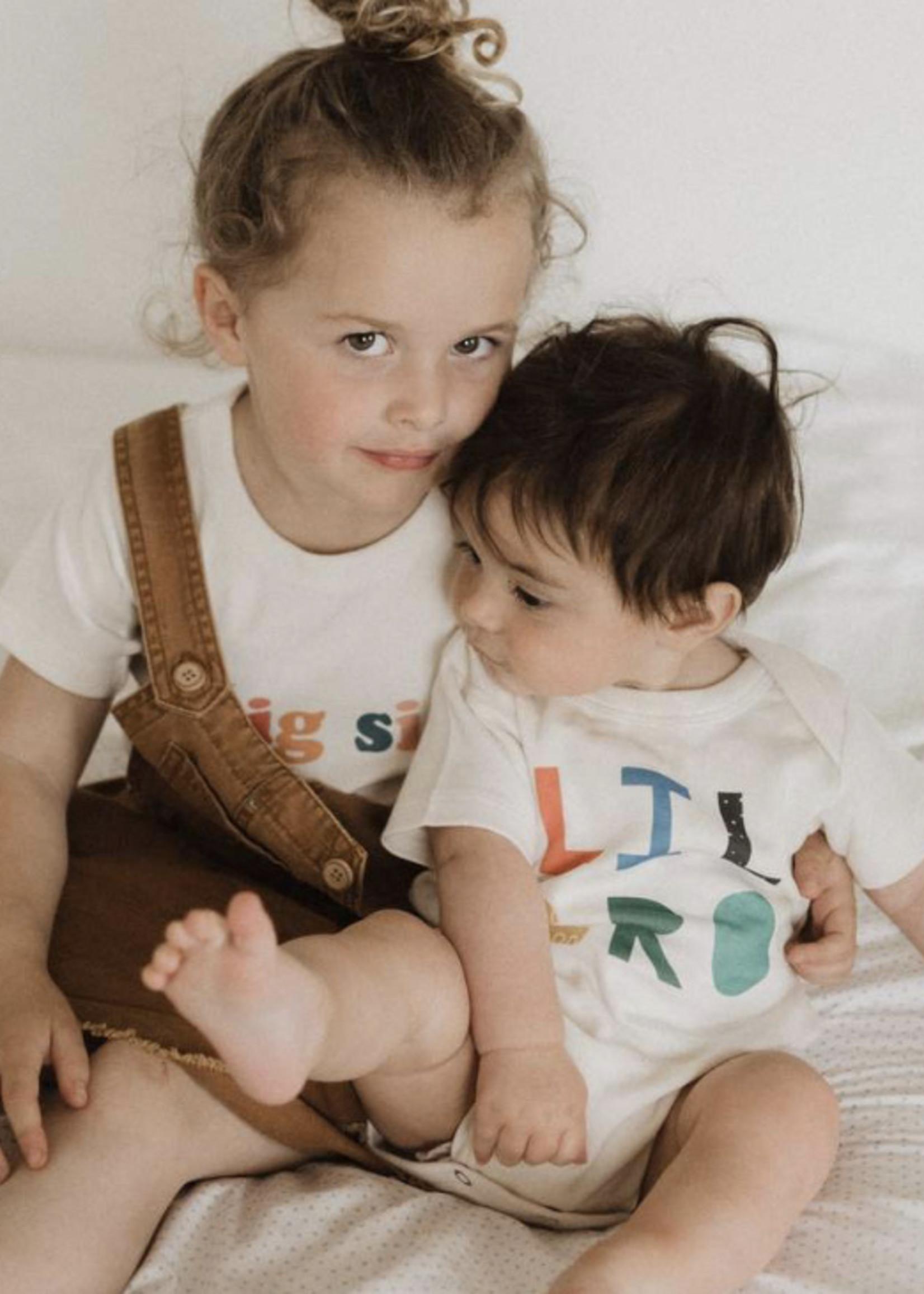 Finn and emma Big Sis Short Sleeve Tee