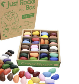 crayon rocks Just a Bunch of Rocks in a Box - 32 colors