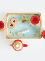 Letoy van Tea and tray set