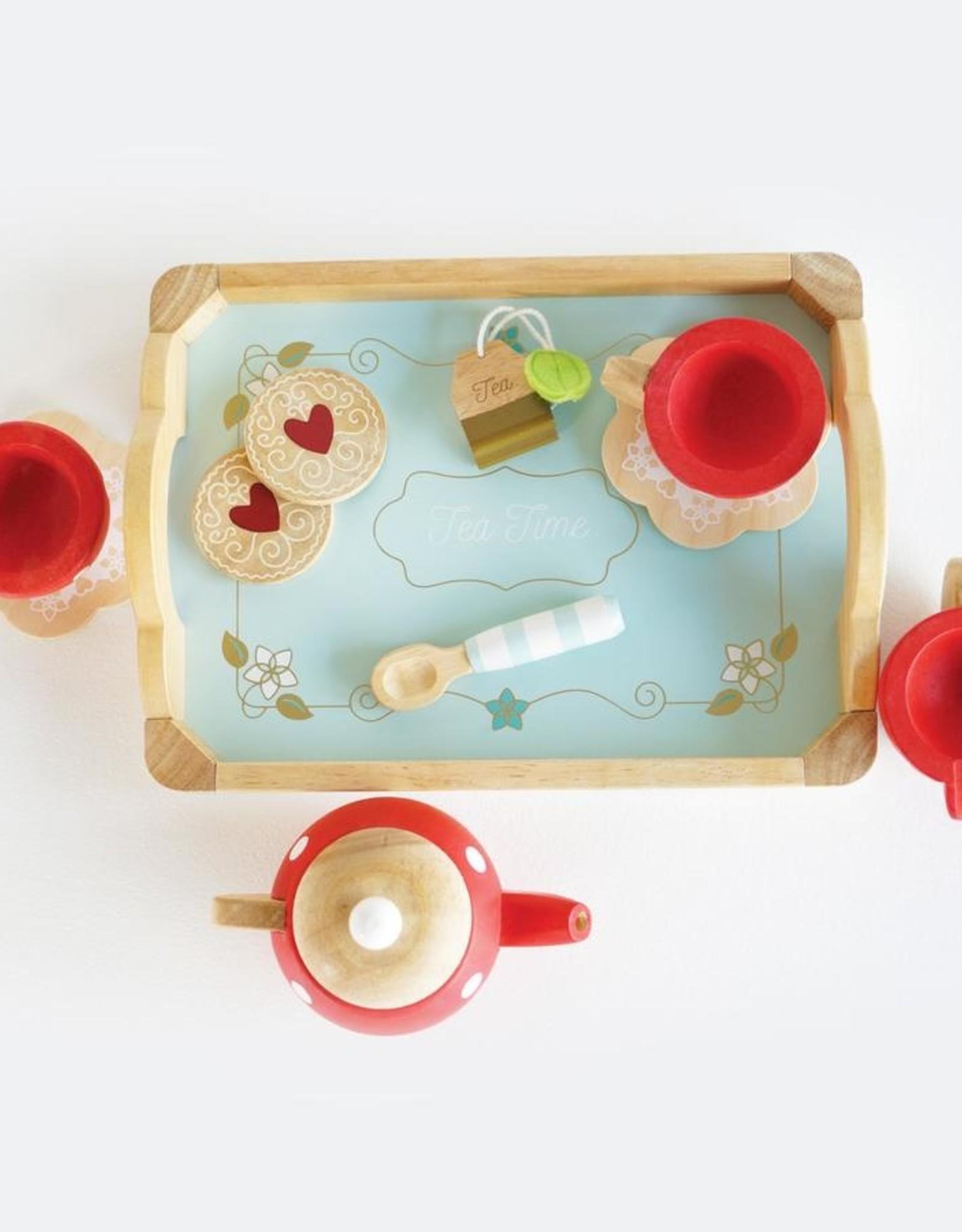 Letoy van Tea and tray set