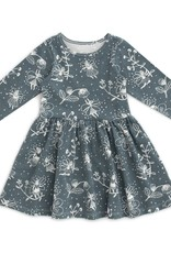 winterwaterfactory Teal Fairies Calgary Dress