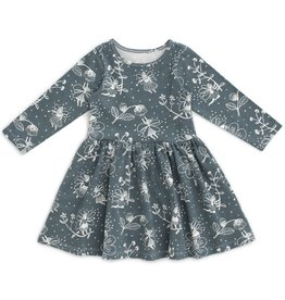 winterwaterfactory Teal Fairies Calgary Dress