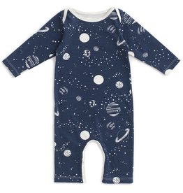 winterwaterfactory Planets Night Sky Long Sleeve Romper
