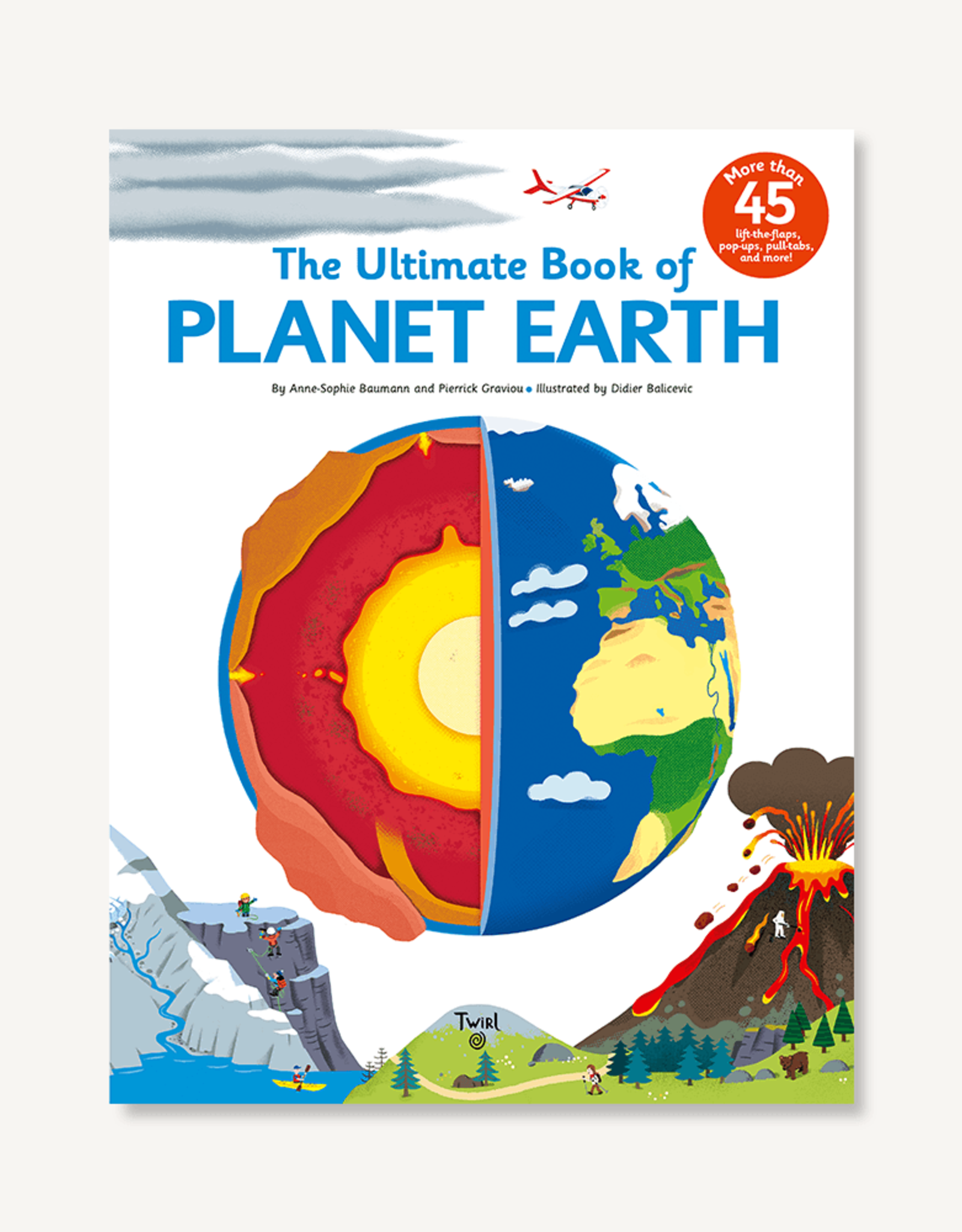 hatchette book group The Ultimate Book of Planet Earth