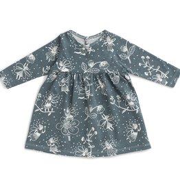 winterwaterfactory Teal Fairies Geneva Baby Dress