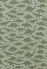 winterwaterfactory Sage Dinosaurs  Long Sleeve Romper
