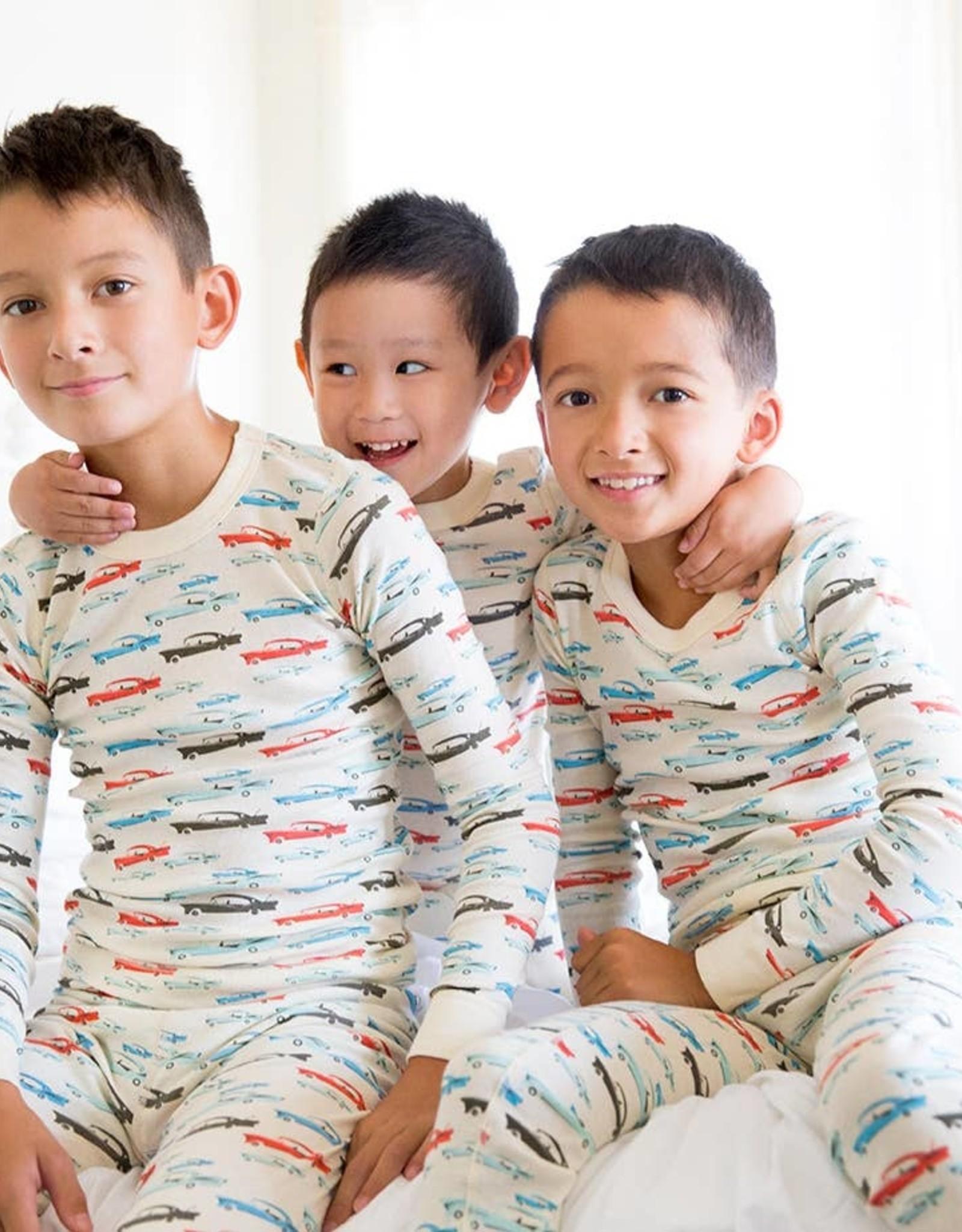 skylar luna Cars Long Sleeve Pajamas