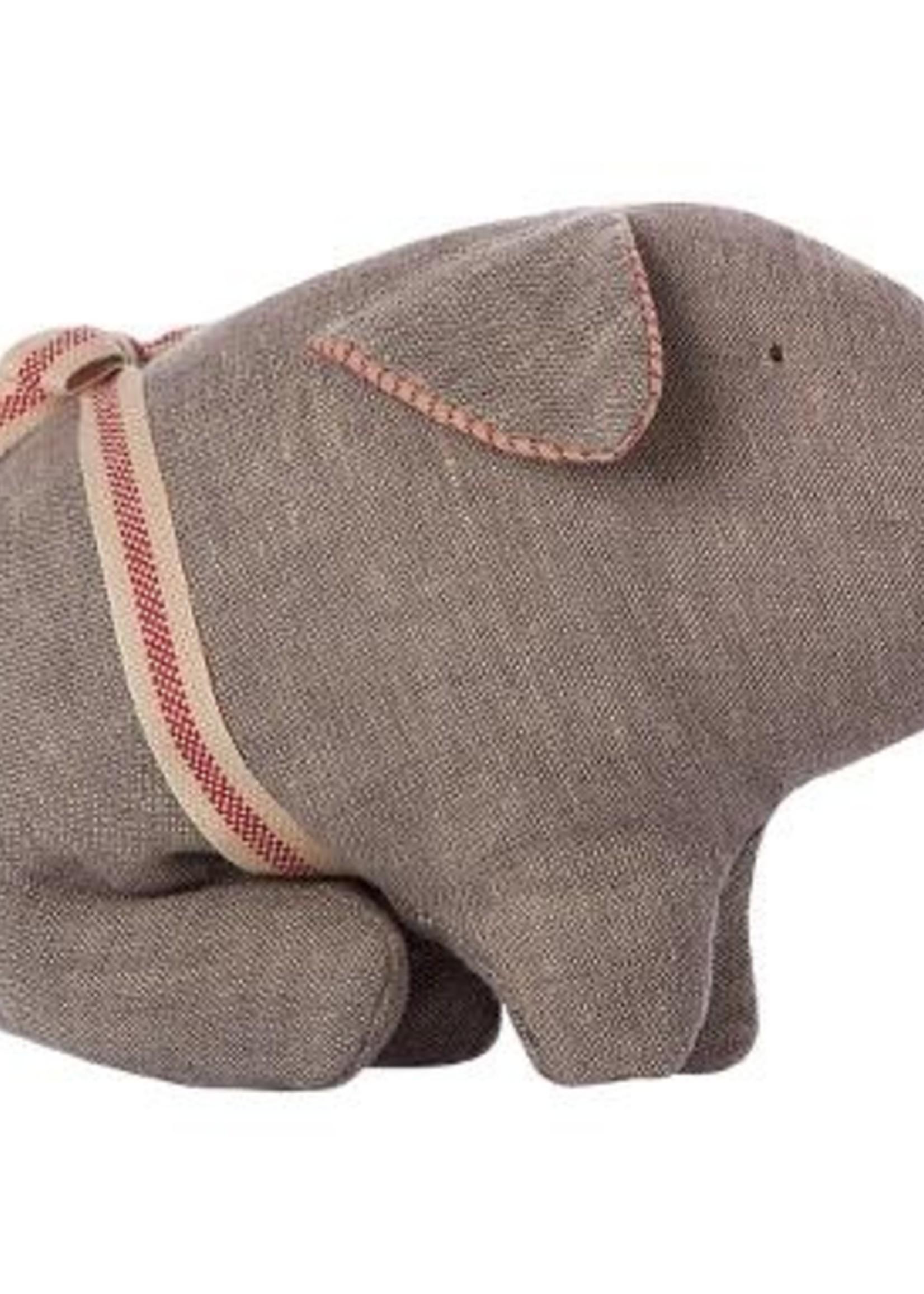 maileg Grey Pig