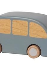 maileg Blue Wooden Bus