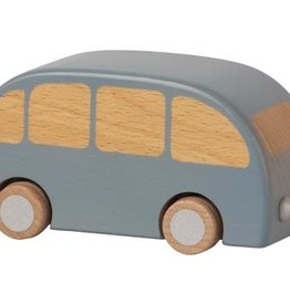 maileg Blue Wooden Bus