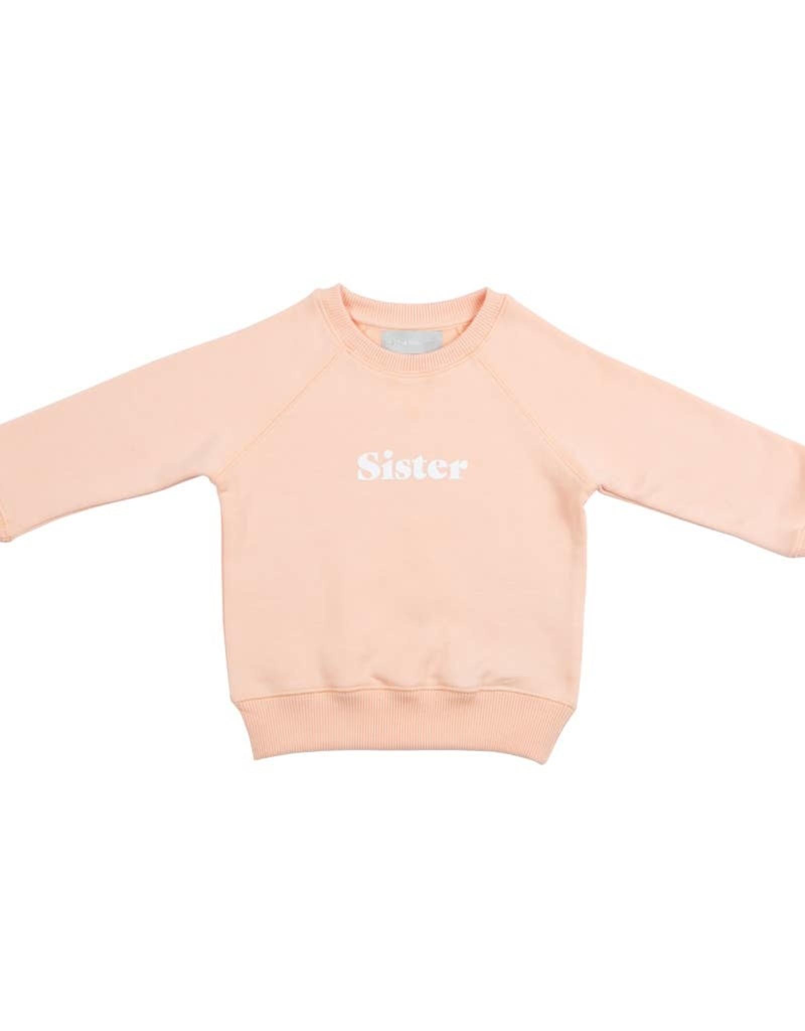 Bob & blossom Peach  Sister Sweatshirt