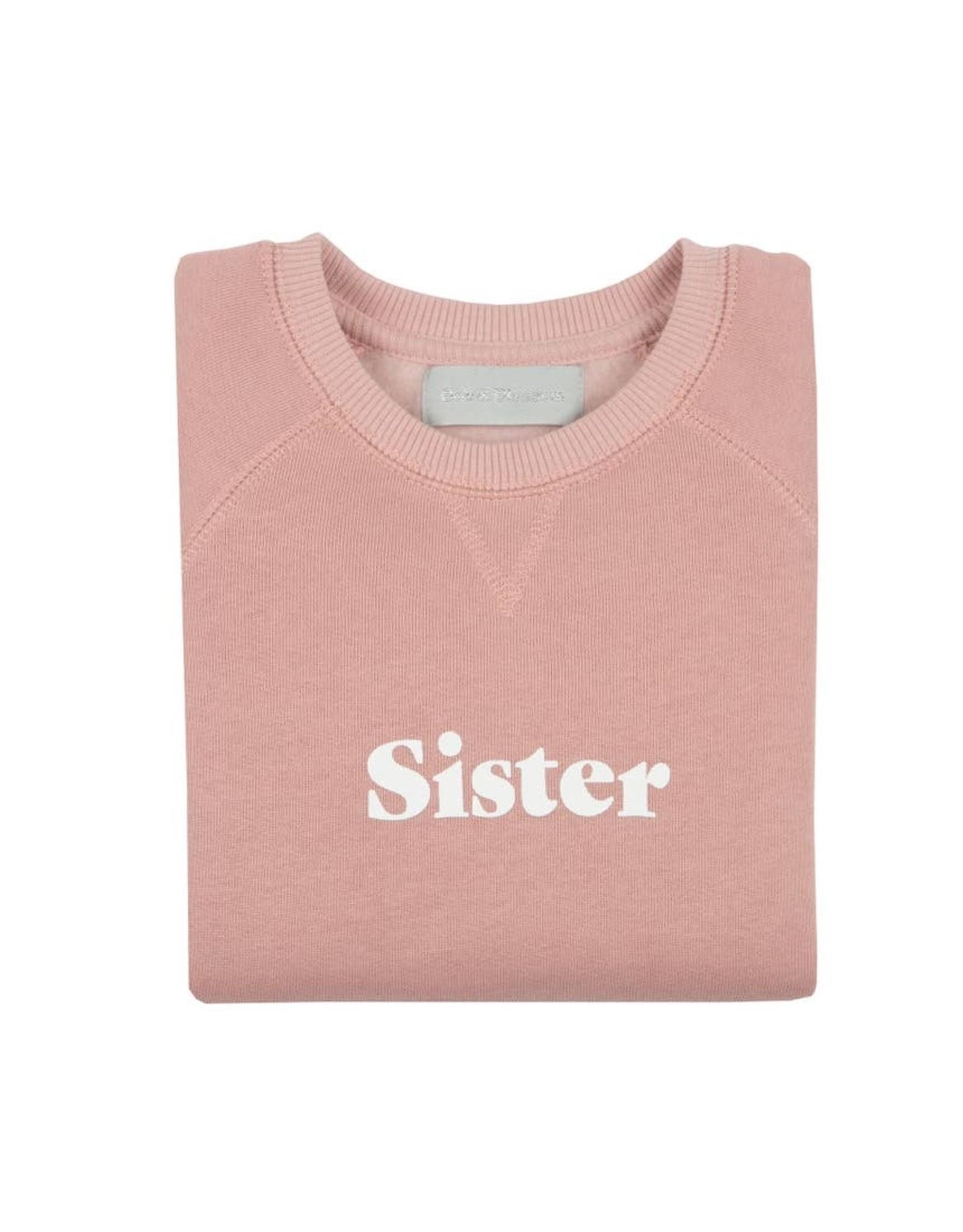 Bob & blossom Blush Sister Sweatshirt