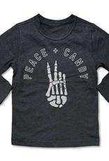 Rivet apparel Peace & Candy Long Sleeve Tee