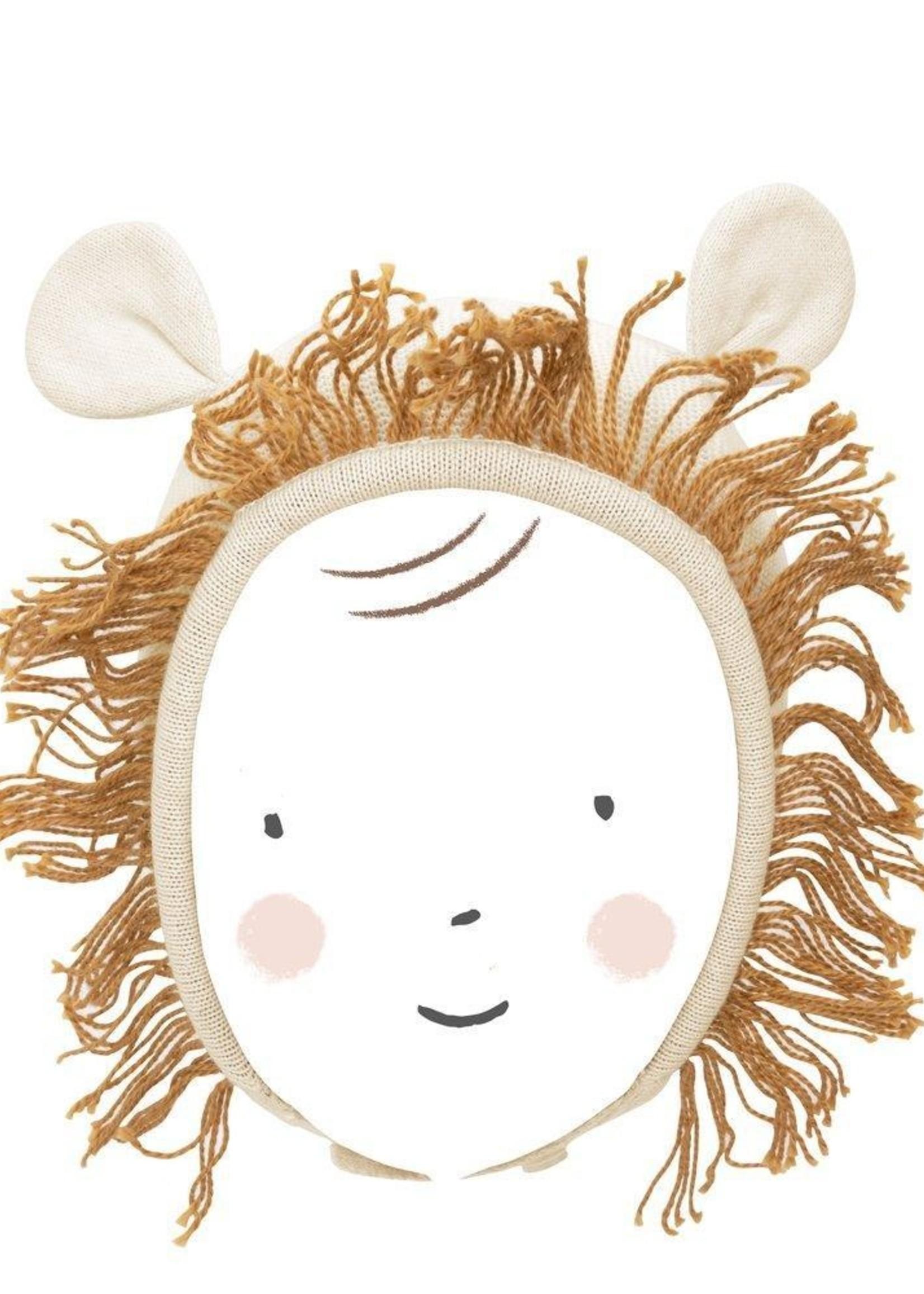 meri meri Lion Baby Bonnet