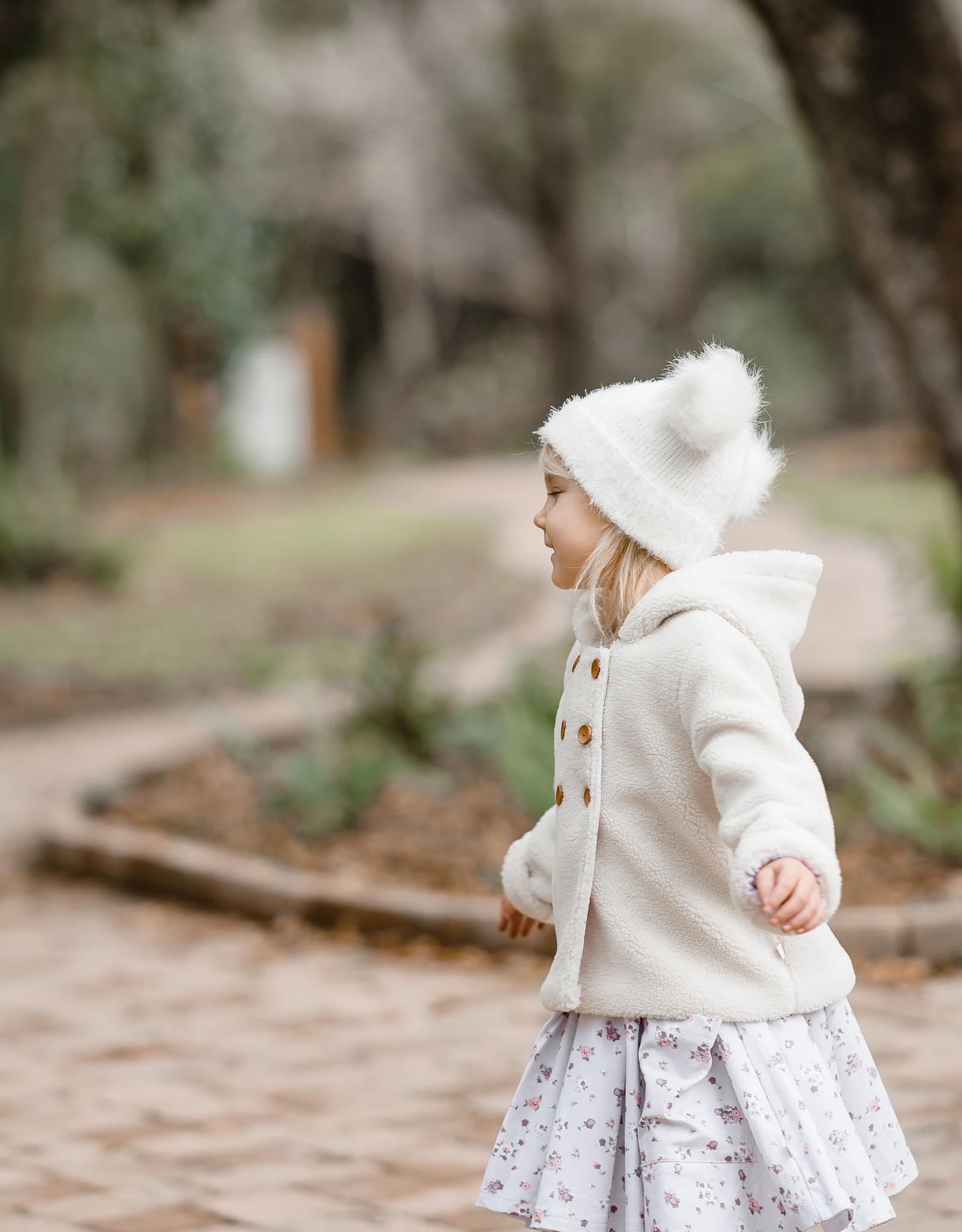 charming mary Teddy Bear Coat
