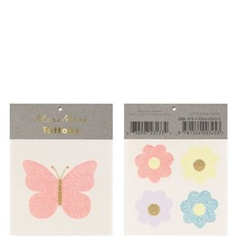 meri meri Floral Butterfly Tattoos