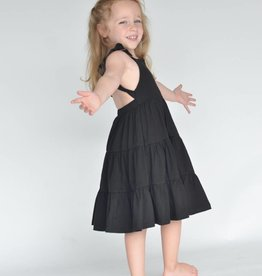 ollie jay Edith Dress in Midnight