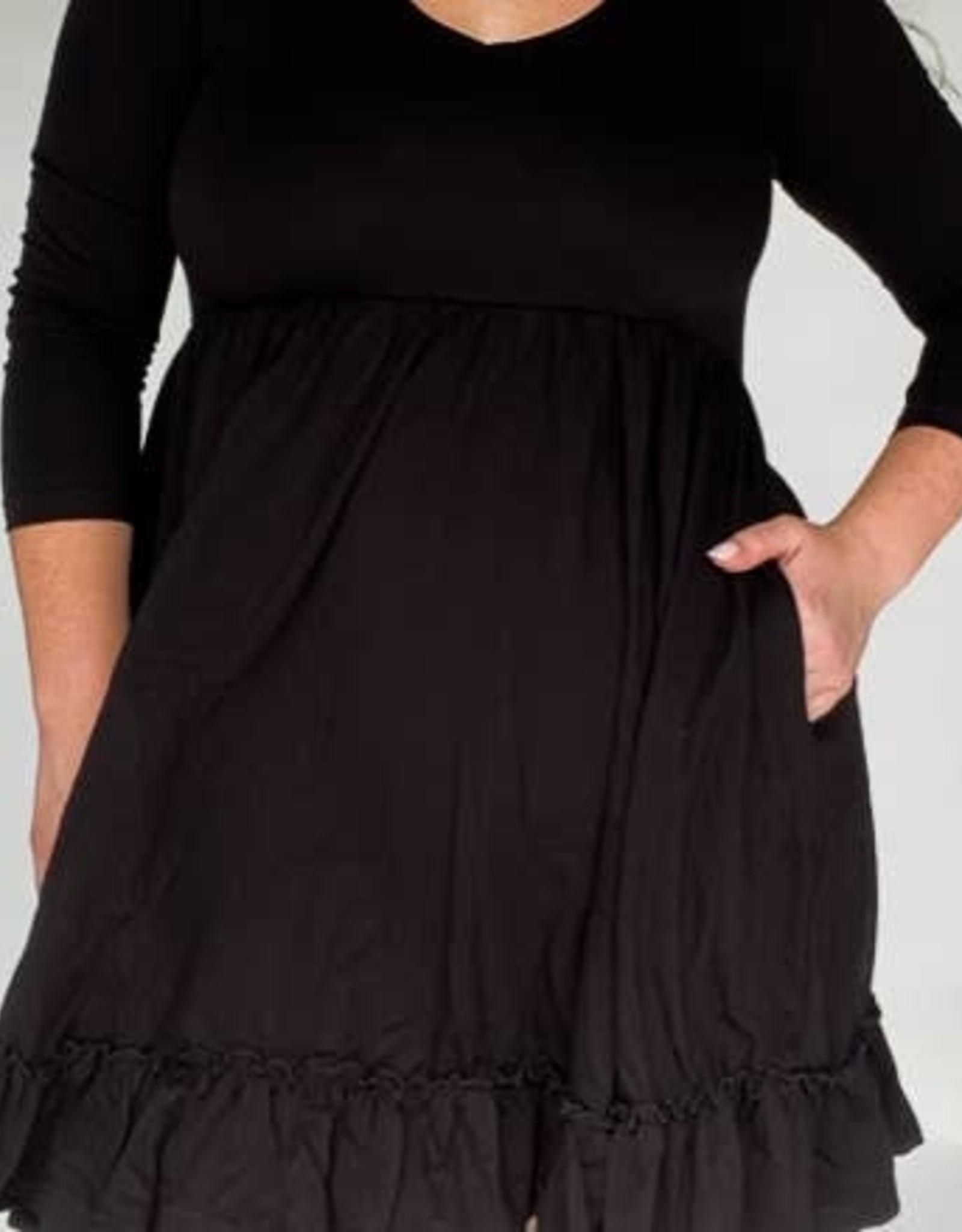 Mommy Mini Dress in Midnight