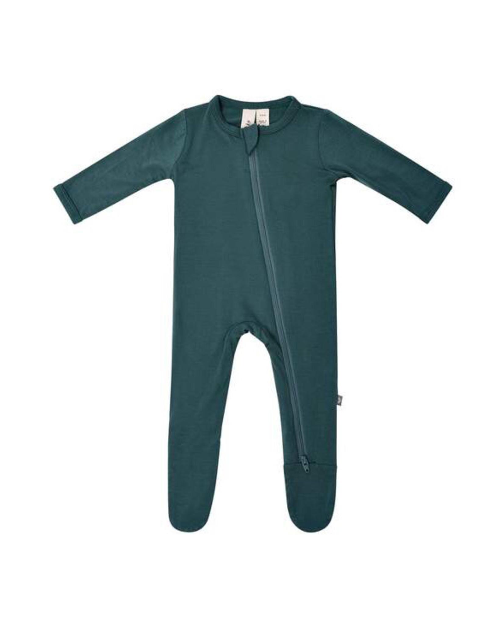 Kyte baby Kyte Baby Emerald zippered footie