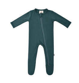 Kyte baby Kyte Baby Emerald zippered footie
