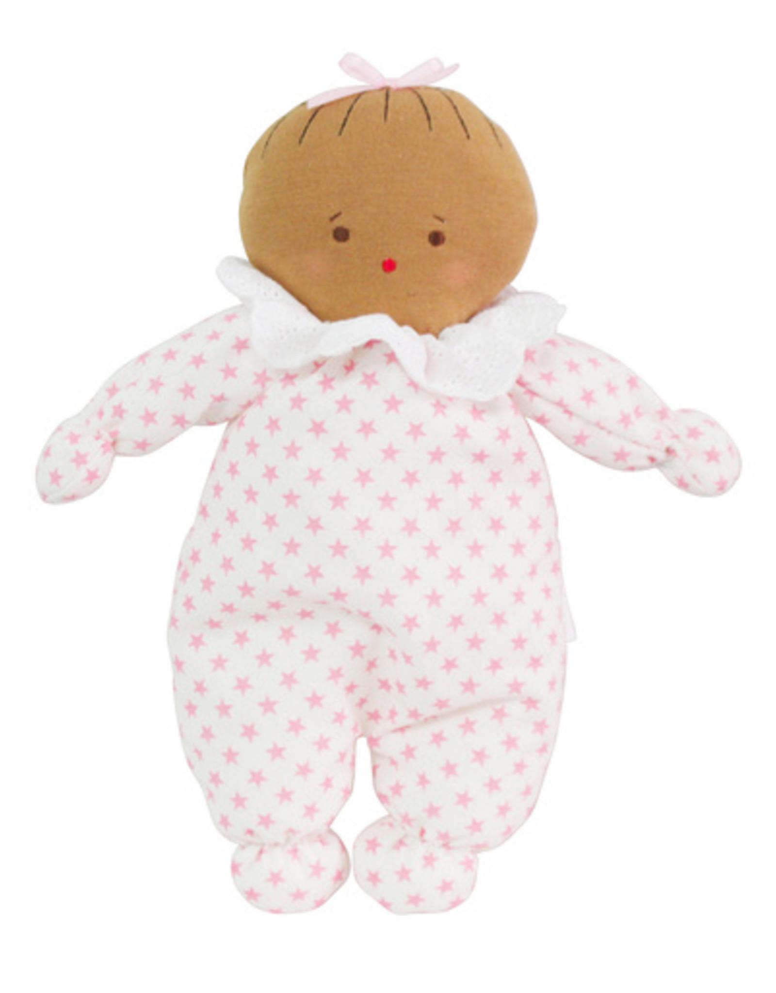 alimrose Asleep Awake Doll in Pink Stars
