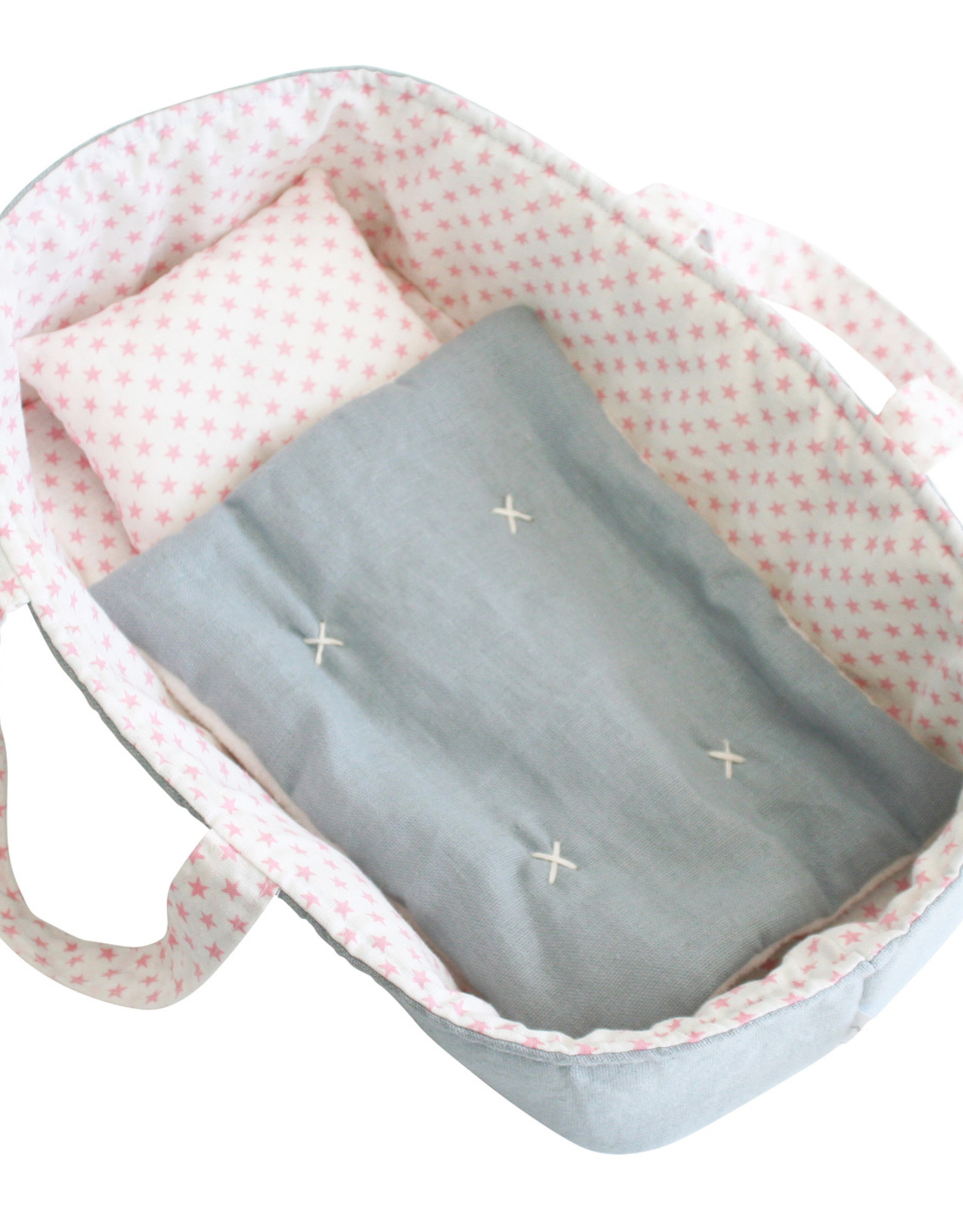 alimrose Baby Doll Carrier Set in Pink Star