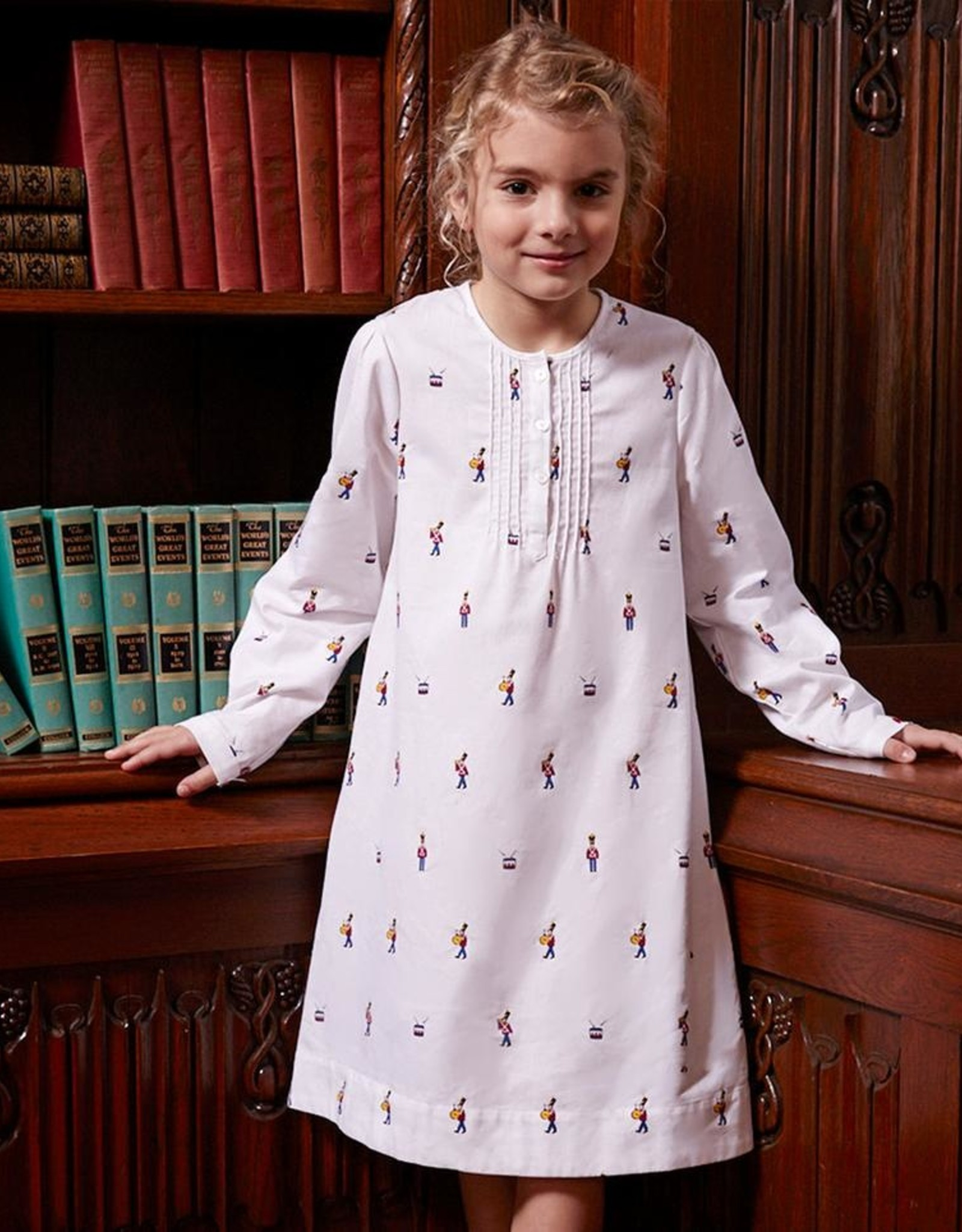 Petite Plume Toy Soldier Beatrice Nightgown