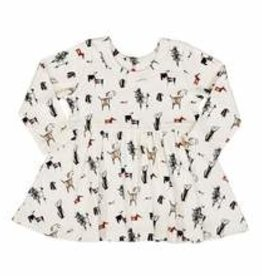 Finn and emma Dogs Twirl Dress