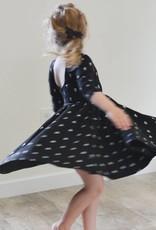 ollie jay Autumn Dress in Vintage Bow Twirl