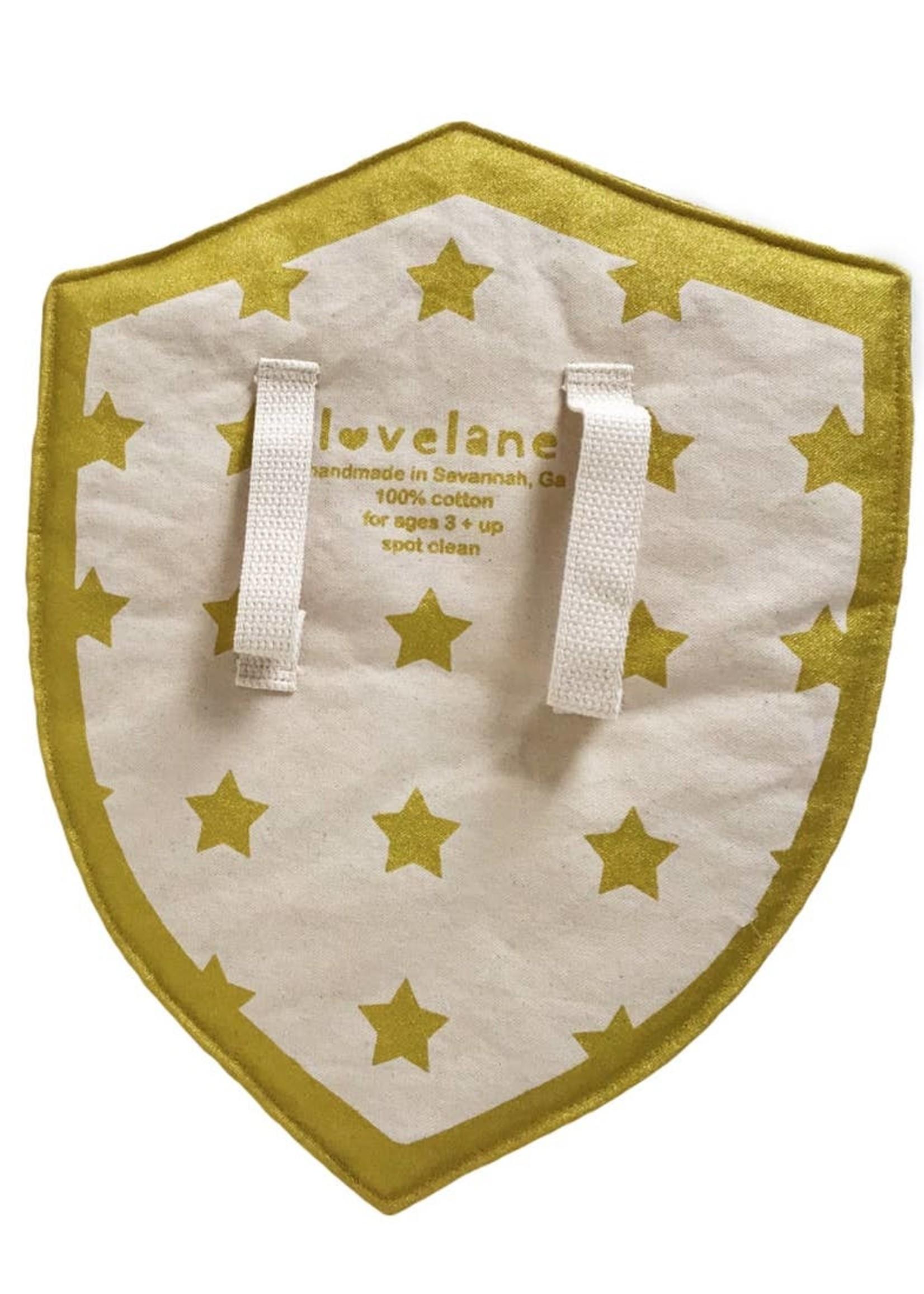 Lovelane designs Orange and Pink Hero Shield