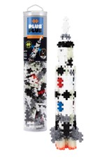 plus-plus usa Saturn V Rocket 240 pc tube