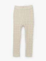 hatley Cream Cable Knit Baby Leggings