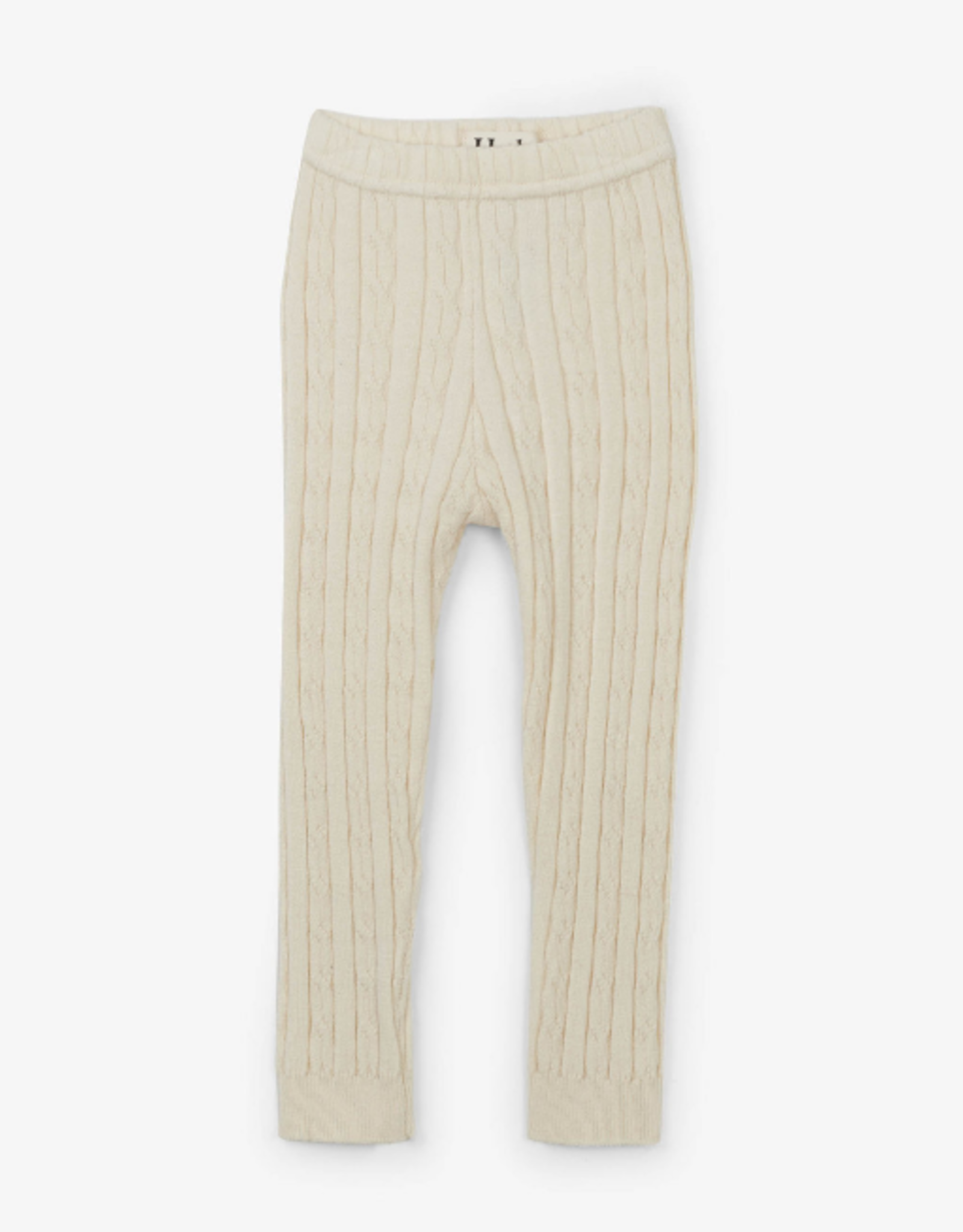 hatley Cream Cable Knit Leggings