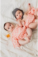Clementine Kids Spotted Blush Swaddle