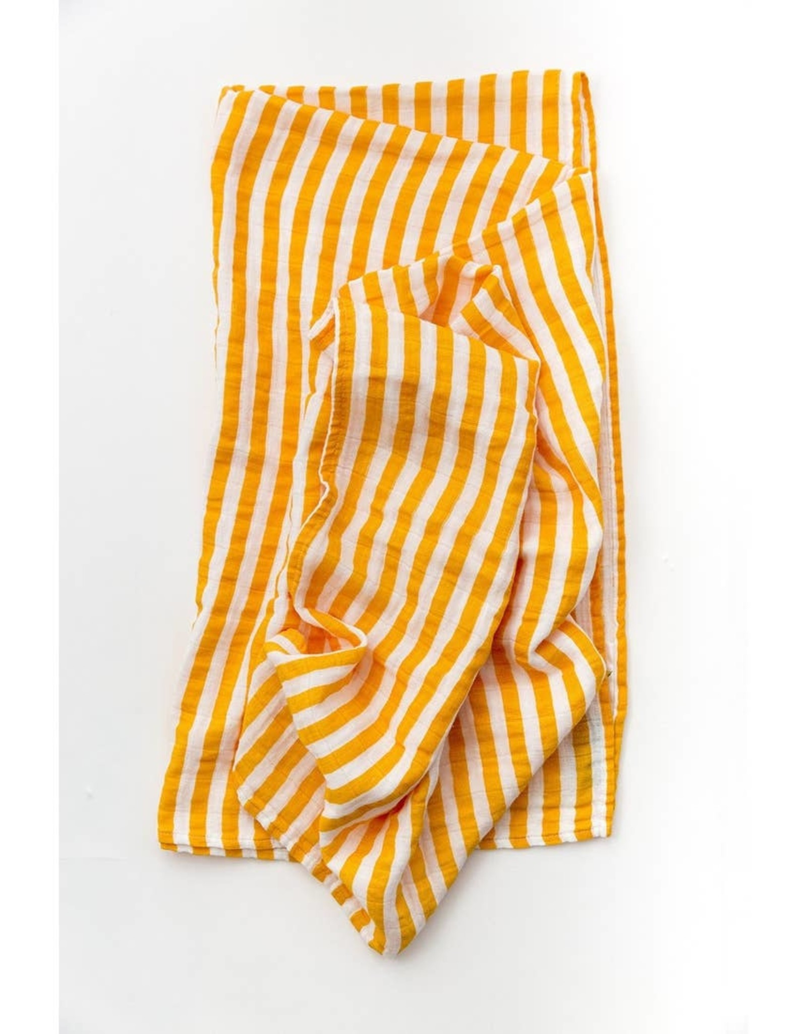 Clementine Kids Citrus Stripe Swaddle