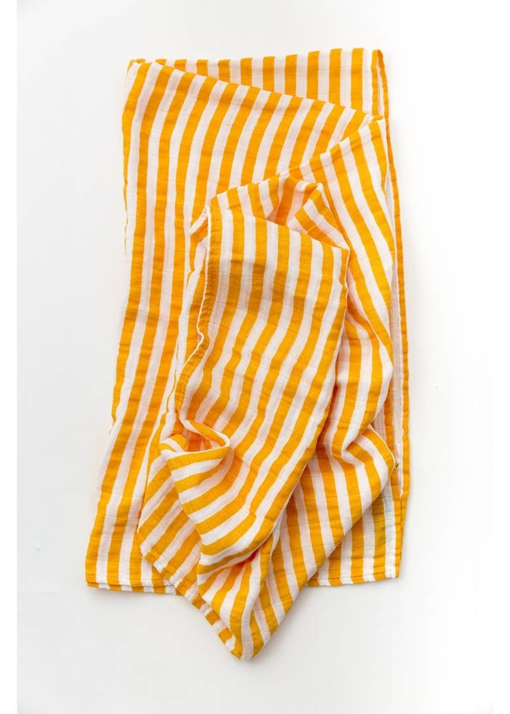 Clementine Kids Citrus Stripe Swaddle
