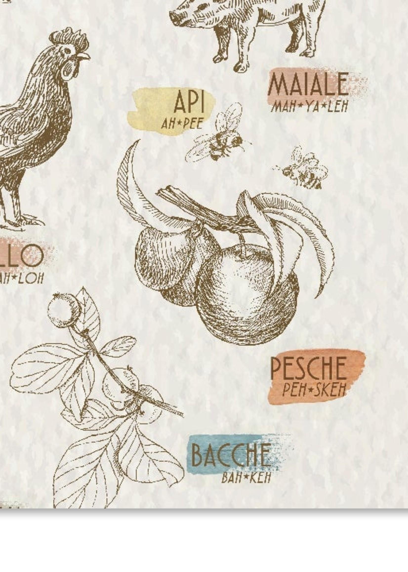 the visual poetic 11 x 14 Farm Study Poster