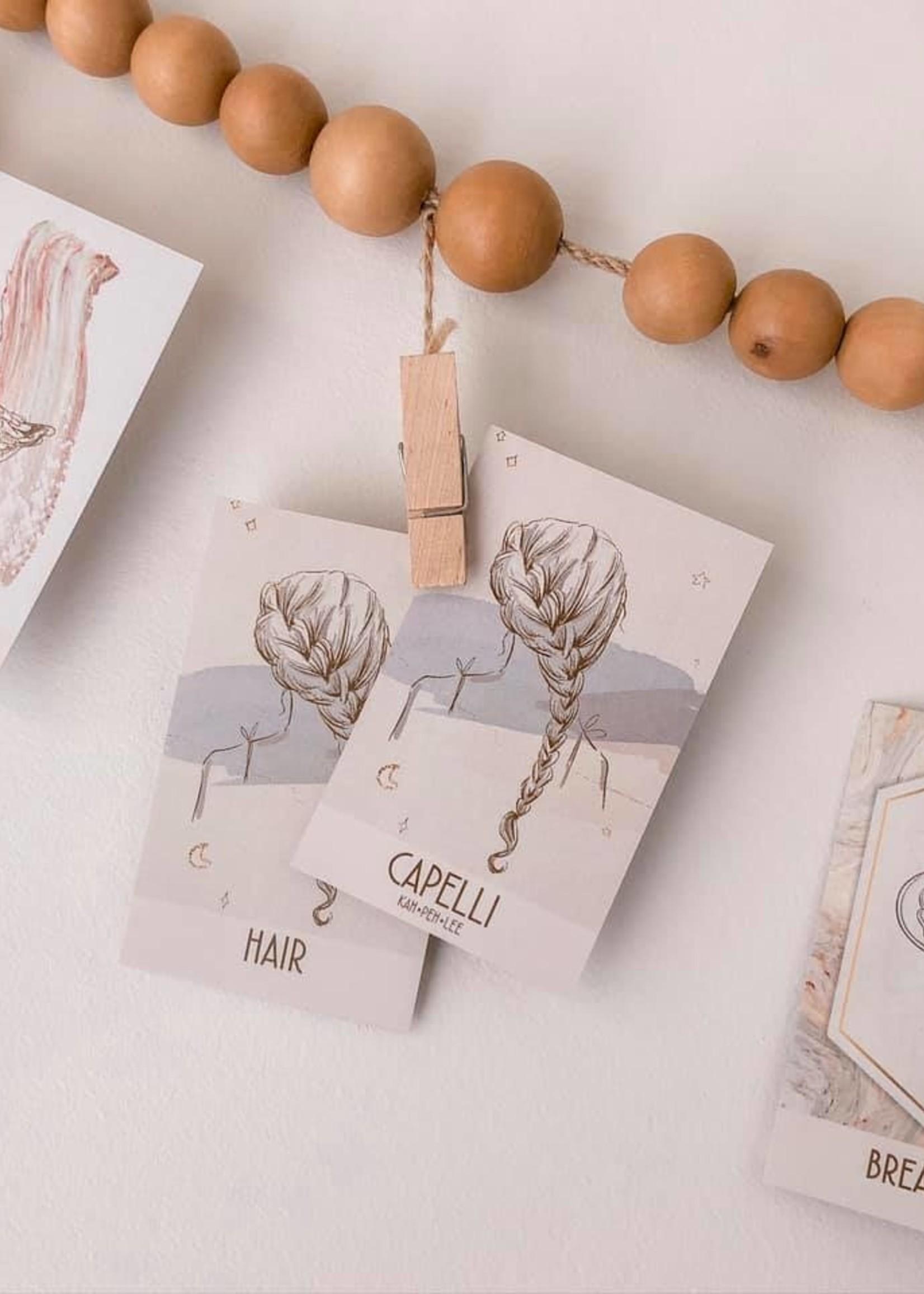 the visual poetic Assorted Deck - Italian & English Flashcards