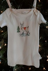 Finn and emma Deer Christmas Tee