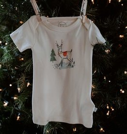 Finn and emma Deer Christmas Tee