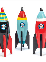 le toy van Wooden Space Rockets