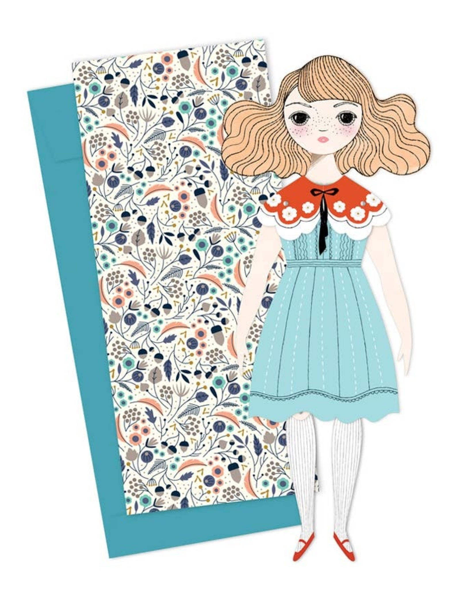 of unusual kind Magnolia Paper Doll - single