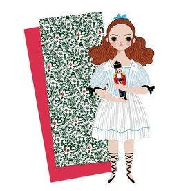 of unusual kind Clara Paper Doll